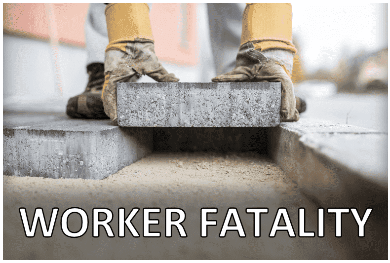 Worker Fatality at Stone Products Manufacturing Facility